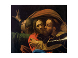 The Taking of Christ (Detail) Giclee Print by  Caravaggio