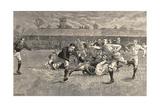 England V. Scotland Rugby Match, Richmond, 1891 Giclee Print by  English School