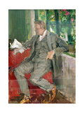 Portrait of Feodor Chaliapin Giclee Print by Konstantin A. Korovin
