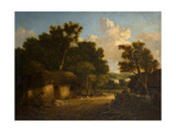 Landscape with Cottage Giclee Print by John Crome