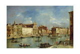 The Grand Canal Giclee Print by Francesco Guardi