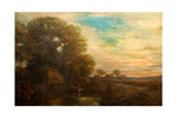 Autumn Evening, Mid 19th Century Giclee Print by Henry Mark Anthony
