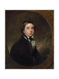 Portrait of Midshipman Michael Daintry, C.1813 Giclée-tryk af Sir Thomas Lawrence