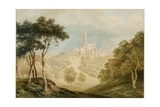 Fonthill Abbey, 1820 Giclee Print by John Warwick Smith