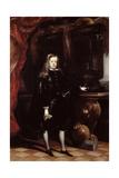 Portrait of Charles II, C.1675 Giclee Print by Don Juan Carreno de Miranda