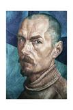 Self Portrait Giclee Print by Kuzma Sergeevich Petrov-Vodkin