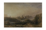 View of Lismore Castle During the 6th Duke of Devonshire's Alterations Giclee Print by Samuel Cook