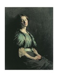 Portrait of a Girl Wearing a Green Dress, 1899 Giclee Print by Sir William Orpen