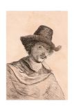 Jan Baptist Weenix, Illustration from '75 Portraits of Celebrated Painters from Authentic… Giclee Print by James Girtin