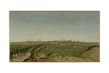 View of Berlin from Tempelhof, 1785 Giclee Print by Carl Traugott Fechhelm
