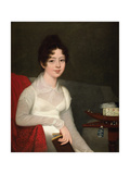Portrait of a Lady Giclee Print by Robert Home