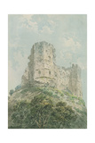 Lewes Castle Giclee Print by Thomas Girtin
