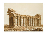 The Temple of Concord at Agrigentum Giclee Print by Franz Kaisermaan