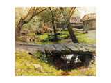 A Bridge in Savvinskaya Sloboda Giclee Print by Isaak Ilyich Levitan