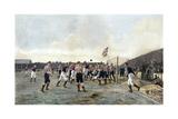 Aston Villa V Sunderland, 1893 Giclée-trykk av Thomas Marie Madawaska Hemy