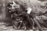 Oscar Wilde Photographic Print by Napoleon Sarony