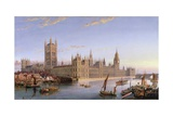 View of Westminster from Lambeth, 1859 Giclee Print by John Macvicar Anderson