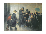 The Starving, 1886 Giclee Print by Jules Jean Geoffroy
