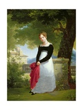 Portrait of Adelaide-Sophie Cleret, C.1817 Giclee Print by Francois Edouard Picot
