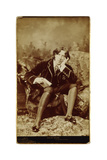 Portrait of Oscar Wilde, 1882 Giclee Print by Napoleon Sarony