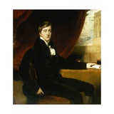 Portrait of William Spencer Cavendish, 6th Duke of Devonshire, 1811 Giclée-tryk af Sir Thomas Lawrence