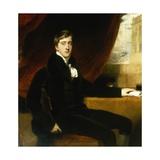 Portrait of William Spencer Cavendish, 6th Duke of Devonshire, 1811 Giclée-tryk af Thomas Lawrence