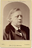 Henry Ward Beecher (1818-87), American Clergyman, Social Reformer Photographic Print by Napoleon Sarony