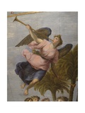 Terrestrial Globe, Detail: Angel Playing Trumpet, 1683 Giclee Print by Vincenzo Maria Coronelli