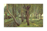 The Dyke, C.1865 Giclee Print by Jean-Baptiste-Camille Corot