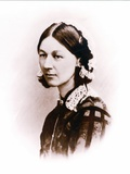 Carte De Visite Photograph of Florence Nightingale, by H. Lenthall, C.1856 Photographic Print