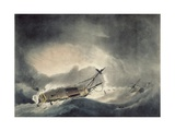 The Storm Increased, Engraved by Francis Jukes (1745-1812) Published in 1795 Giclee Print by Robert Dodd