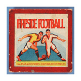 Fireside Football Game Giclee Print