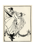 Design for the Contents Page of 'The Savoy', Volume I, 1896 Giclee Print by Aubrey Beardsley