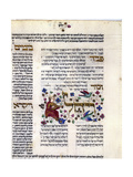 Fol.272 (Detail) from 'The Rothschild Miscellany', Northern Italy, C.1450-80 Giclee Print