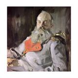 Portrait of Grand Duke Pavel Alexandrovich Giclee Print by Valentin Aleksandrovich Serov