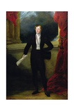 Portrait of William Spencer Cavendish, 6th Duke of Devonshire, C.1822-86 Giclee Print by Sir George Hayter