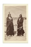 Two Braves, Dakota, 1868 Giclee Print by Alexander Gardner