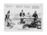 Mediation and Pacification, Published by H R Robinson, New York, 1846 Giclee Print by Edward Williams Clay