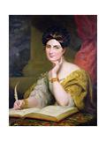 Portrait of the Hon. Mrs. Caroline Norton, 1832 Giclee Print by Sir George Hayter