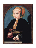 Portrait of a Lady, C.1539 Giclee Print by Bartholomaeus Bruyn