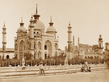 Mosque in the Husainabad Emambarah, Lucknow Photographic Print by Felice Beato