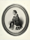 Portrait of Florence Nightingale, C.1840 Photographic Print by J. Rawlins
