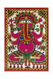 Elephant Headed God Ganesh Giclee Print