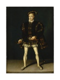 Portrait of Edward Vi Giclee Print by Guillaume Scrots