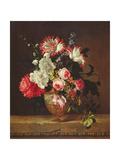 Vase of Flowers Giclee Print by Gerard Van Spaendonck