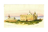 Light House and Convent, Carmel, 1873 Giclee Print by Claude Conder