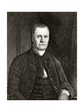 Roger Sherman, Engraved by Simeon Smith Jocelyn (1799-1879) Giclee Print by James Earle
