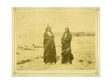 Spotted Tail and Fast Bear, 1868 Giclee Print by Alexander Gardner