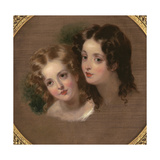 Study of Two Children Giclee Print by George Henry Harlow