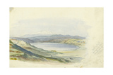 Mount Hermon and the Sea of Galilee, 1874 Giclee Print by Claude Conder
